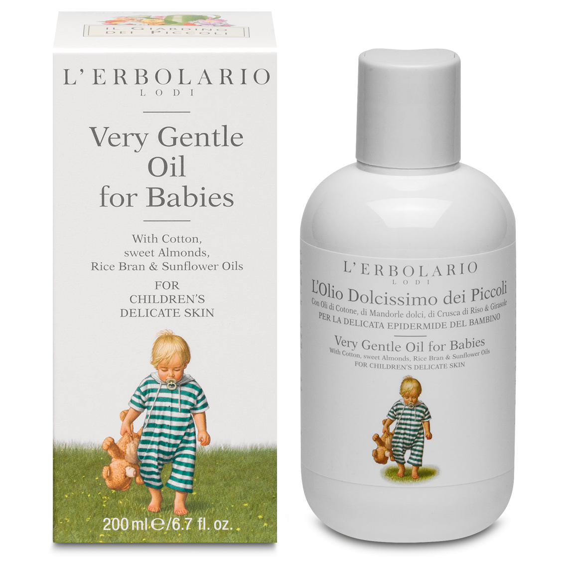 Very Gentle Oil For Babies 200 Ml