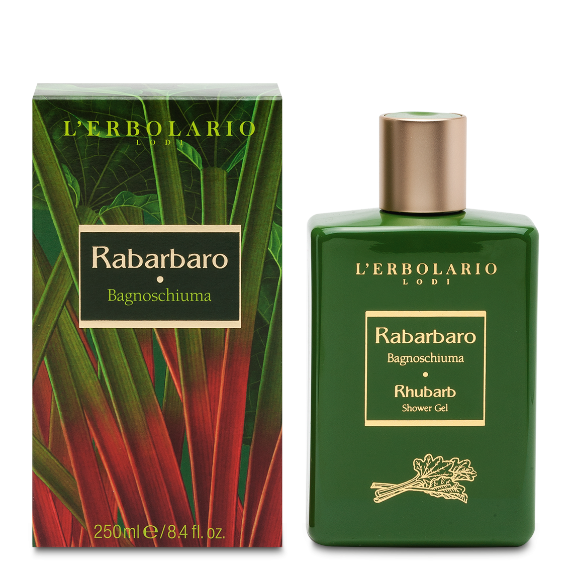 Bagnoschiuma Rabarbaro