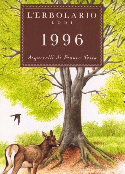 Calendario 1996.Calendario L Erbolario 1996